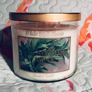 NEW 3-Wick Bath & Body Work Candle Eucalyptus Mint